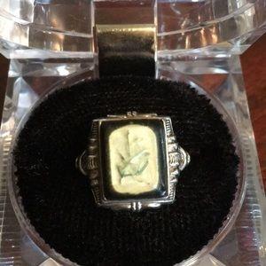 Beautiful Art Deco Sterling Ring
